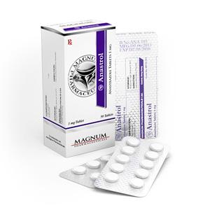 Magnum Anastrol til salgs på anabol-no.com i Norge | Anastrozole på nett