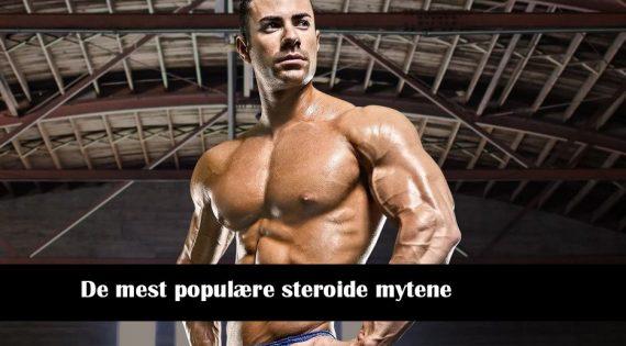 De mest populære steroide mytene