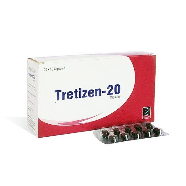 Tretizen 20 til salgs på anabol-no.com i Norge   Isotretinoin på nett